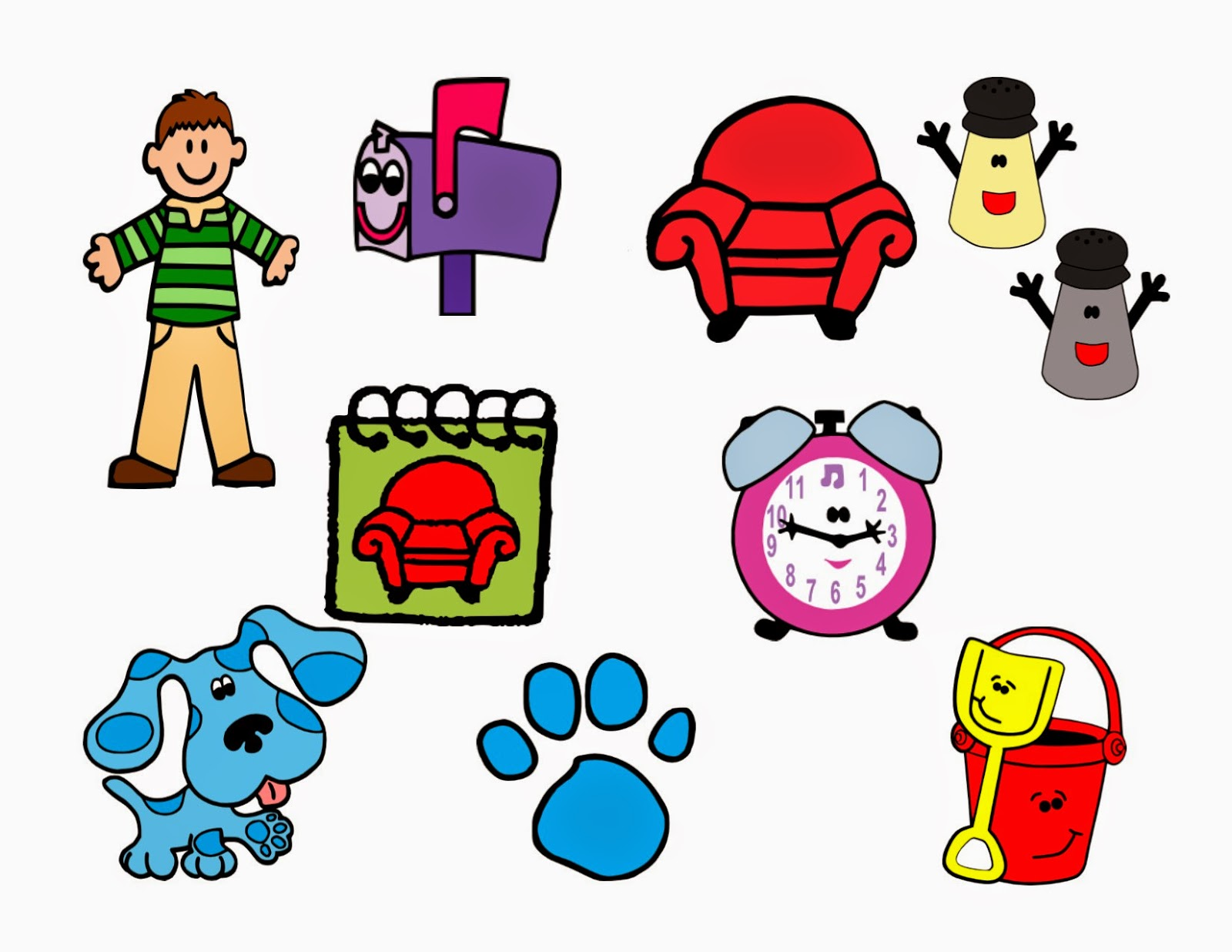 1600x1236 Crafting With Meek Blues Clues Svgs