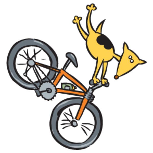 600x600 Dog Biking Free Images