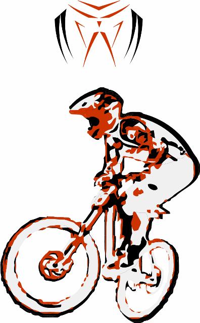 396x640 Mtb Vector Logo Mountain Biking Mtb, Logos And Bmx