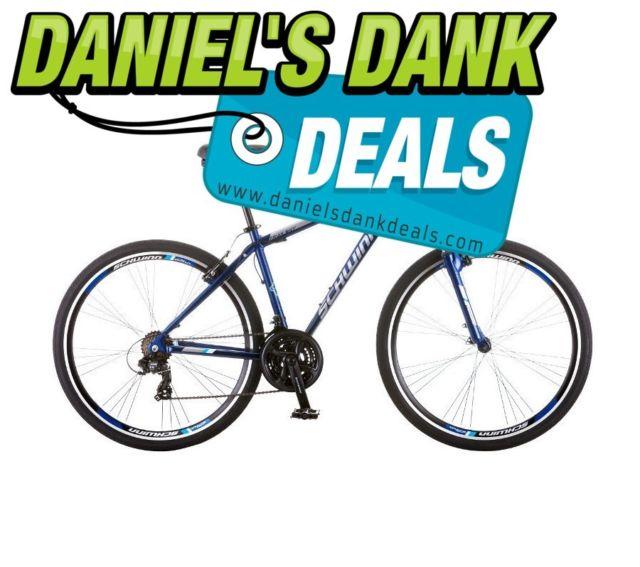 640x567 Schwinn Hybrid Bike Men Trailway 28