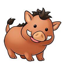 220x220 Boar Clipart Warthog