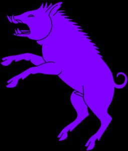 255x300 Boar Purple Clip Art Logo Clip Art And Logos
