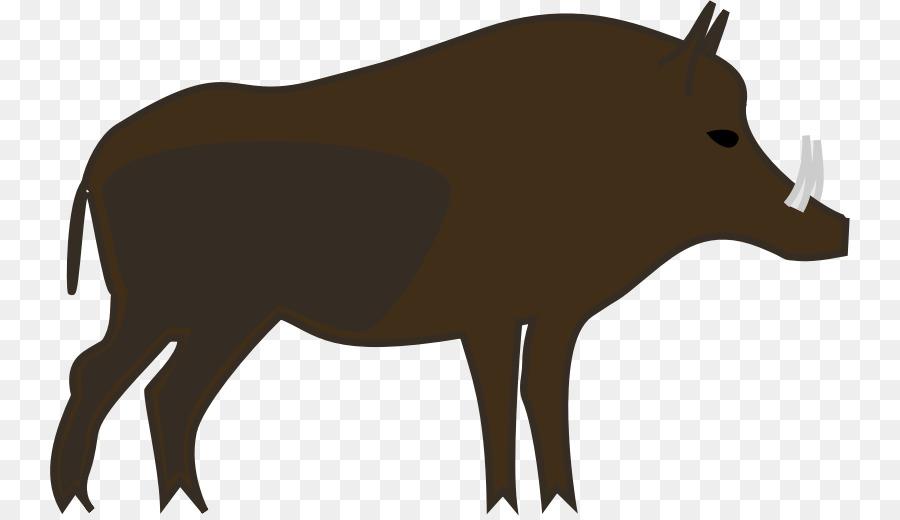 900x520 Common Warthog Boar Hunting Clip Art