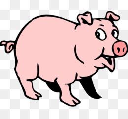 260x240 Wild Boar Pig Roast Clip Art