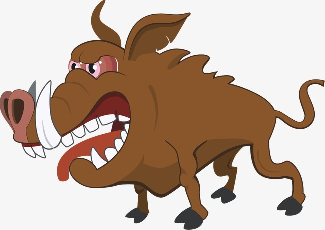 650x460 Boar, Villain, Big Boar, Animal Png Image And Clipart For Free