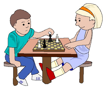 433x354 Chess Clipart Clip Art Activities Playing Chess Picgifs Animations