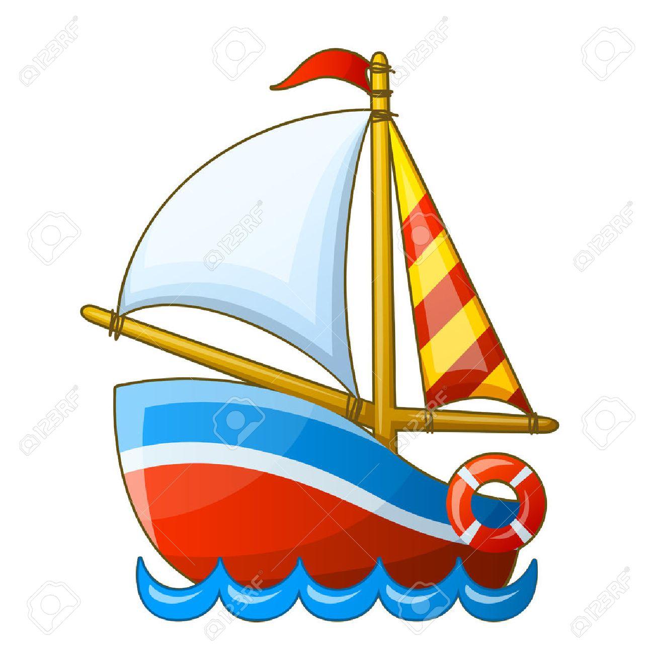 1300x1300 Cartoon Boat Group