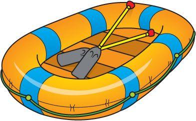 392x242 Raft Clipart Travel, Recreation Clip Art, Card