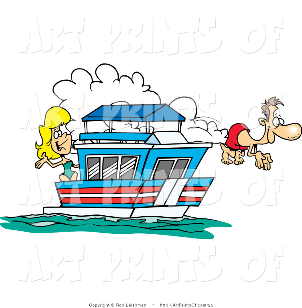 1004x1024 Houseboat Clipart