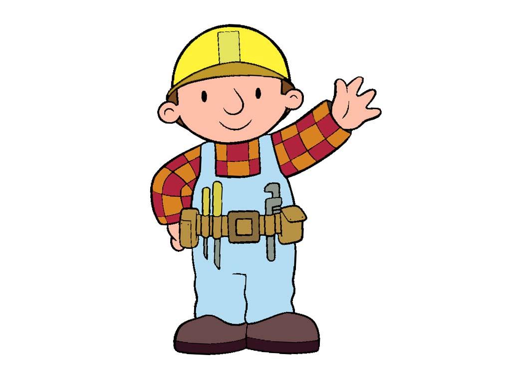 1024x768 Cartoons Clip Art Bob The Builder