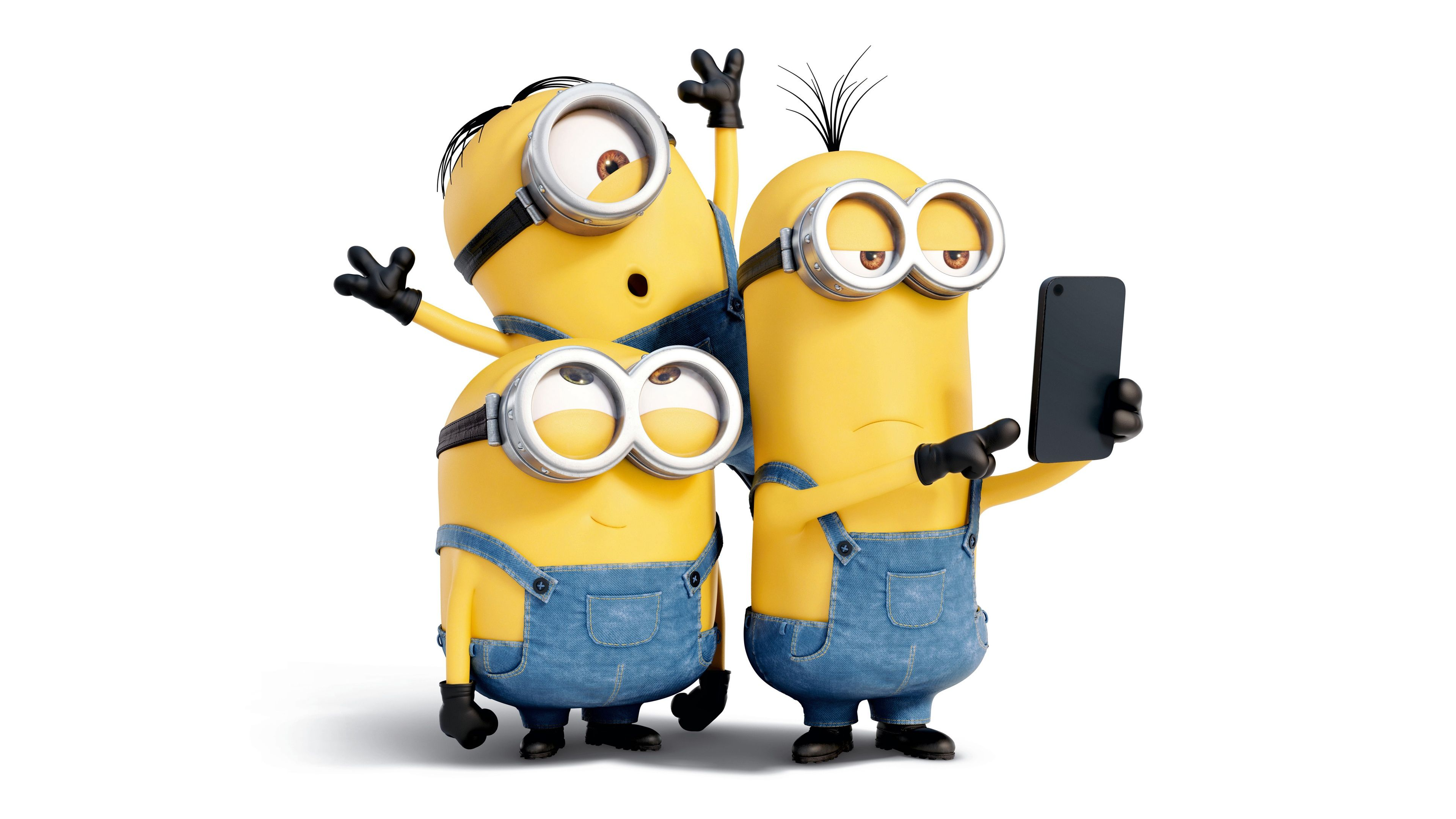 3840x2160 Free Clipart Of Minions