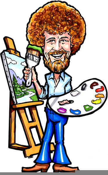 372x600 Bob Ross Clipart Free Images