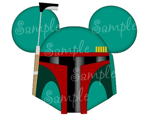 510x394 Boba Fett Inspired Character Personalized Printable Digital