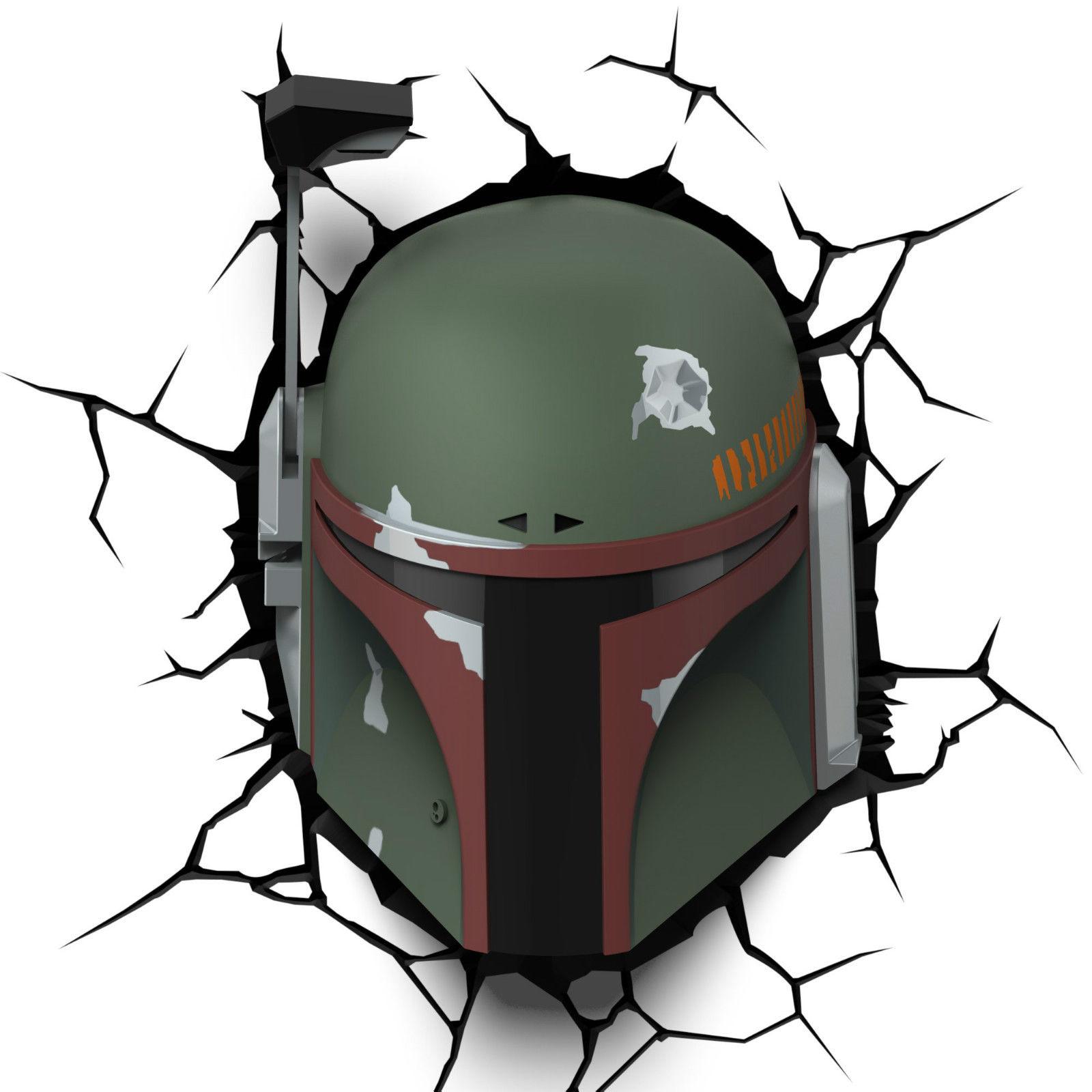 1600x1600 50008 Star Wars Boba Fett 3d Nightlight 3dli Ebay