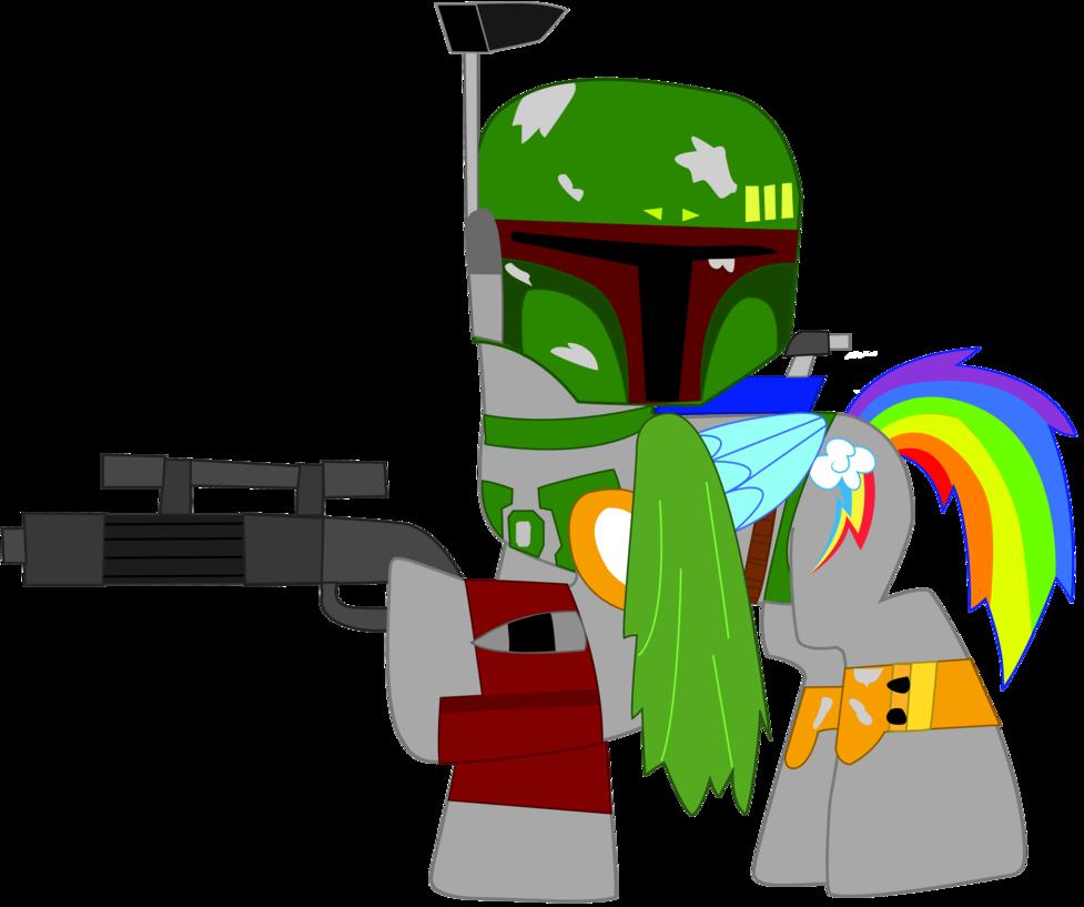977x817 Rainbow Dash As Boba Fett In Star Wars By Ejlightning007arts
