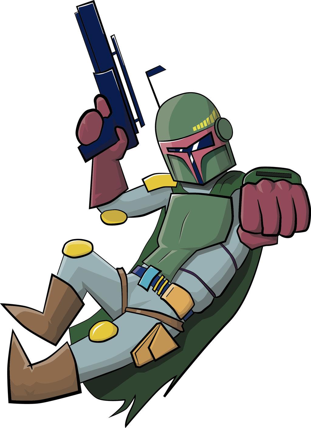 1024x1407 Star Wars Boba Fett Sketch By Aruiz77