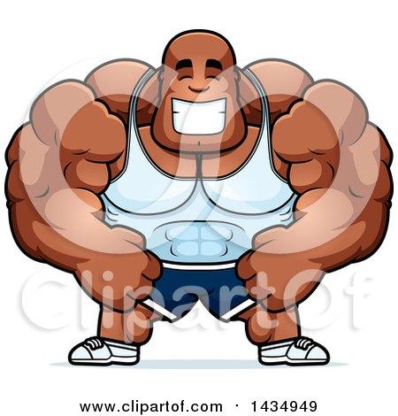 450x470 Royalty Free (Rf) Bodybuilding Clipart, Illustrations, Vector