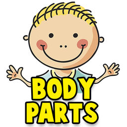 256x256 Learn Human Body Parts For Babies By Smit Mankad