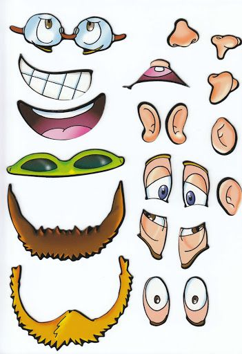 Body Parts For Kids Clipart