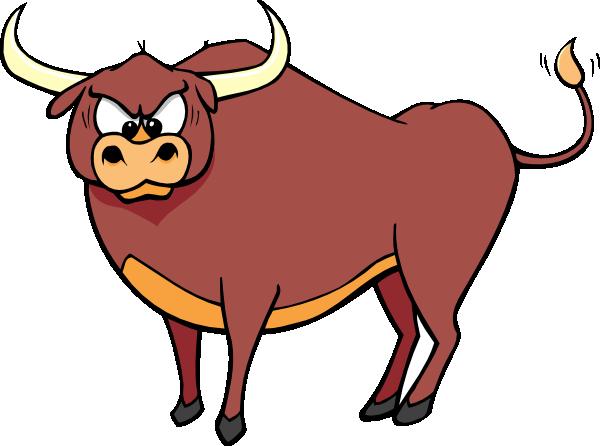 600x446 Bull Face Clipart