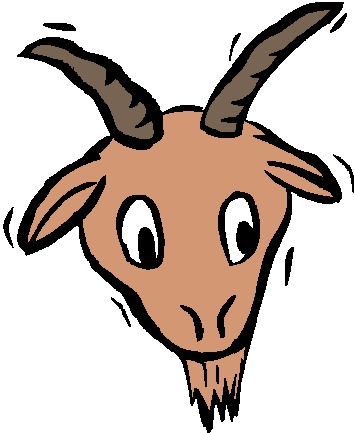354x433 Goat Clipart Face Clipartpig