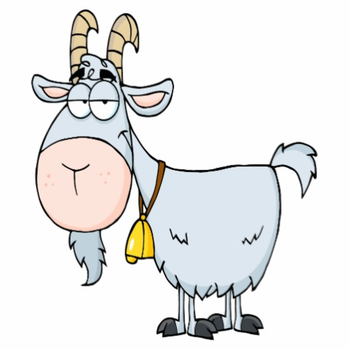 512x512 Goat Clipart Line Art