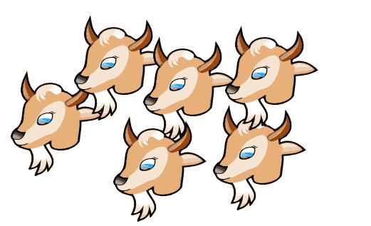 521x317 Goat Clipart Seven