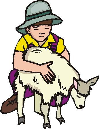 344x446 Goats Clip Art 3