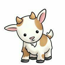 220x220 Splendid Design Cute Goat Clipart
