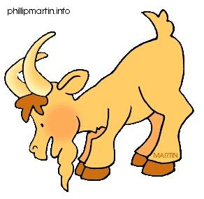 292x285 Billy Goat Clipart Line Art