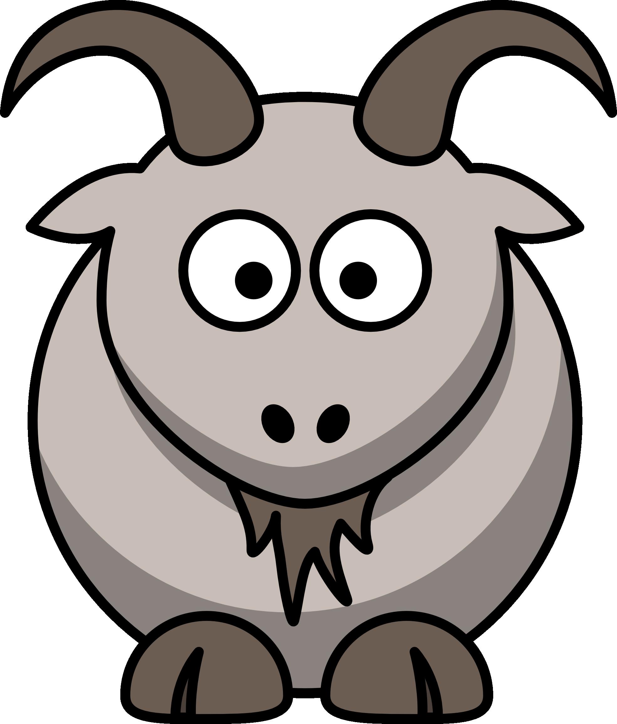 1969x2311 Boer Goat Clip Art