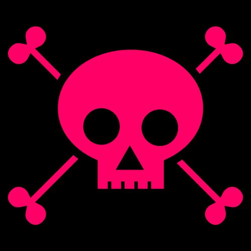 500x500 15305 Skull And Bones Clip Art Public Domain Vectors