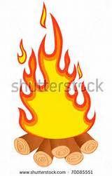 160x251 Bonfires Clipart