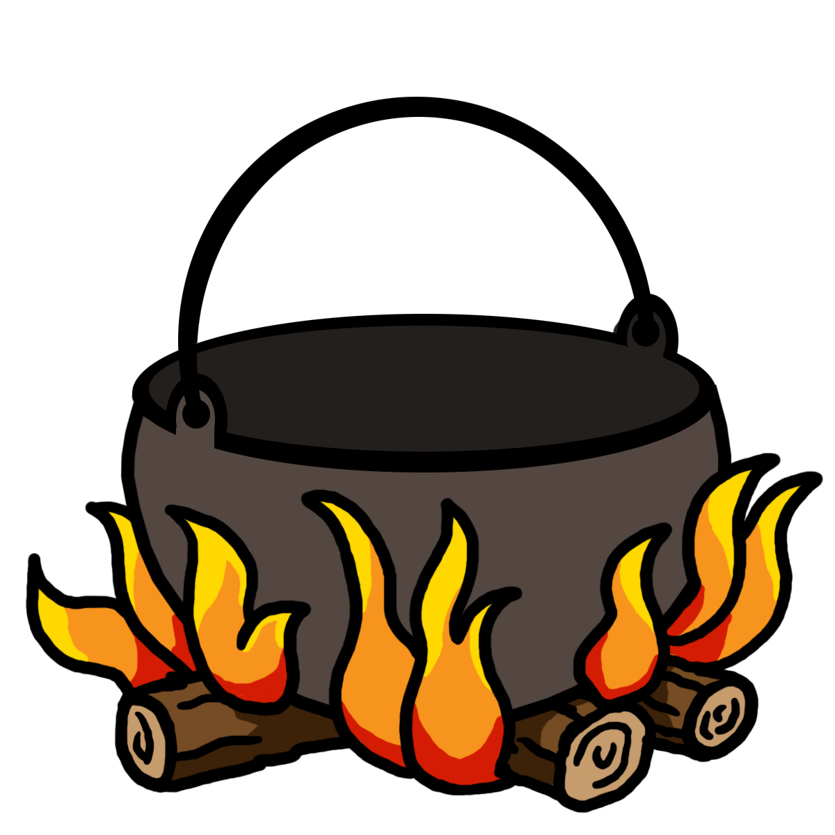 1200x1200 Campfire Camp Fire Clipart 3 Image 4