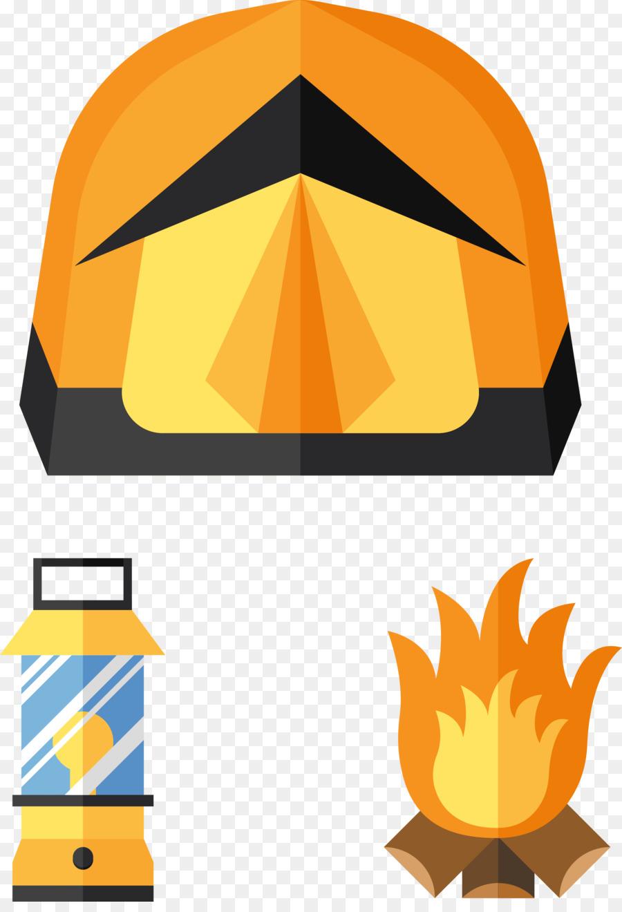 900x1320 Camping Bonfire Clip Art
