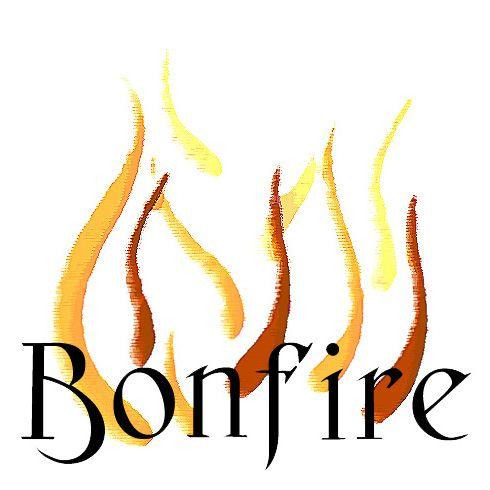 490x490 Pretty Bonfire Images Clip Art
