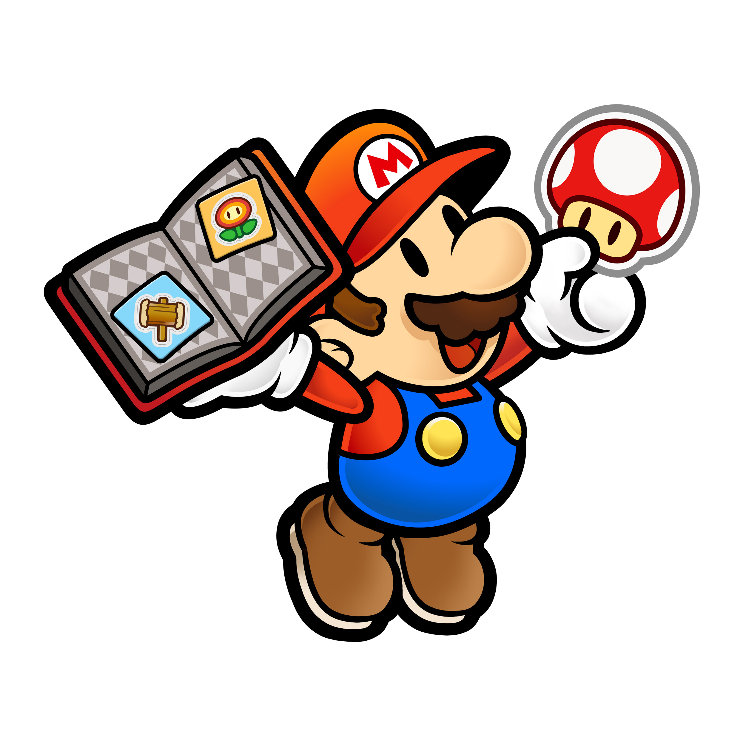 2500x2500 Covered Clipart Paper Mario