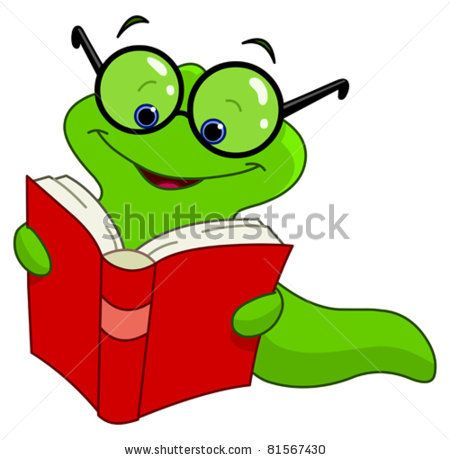 450x460 Stock Vector Book Worm Book Fair Themes Book