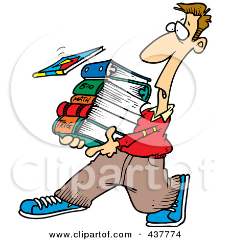 450x470 College Student Studying Clipart Clipart Panda