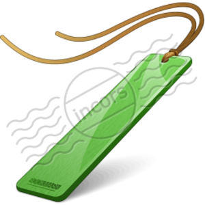 300x300 Bookmark Green 4 Free Images