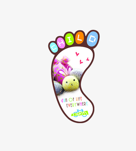 478x529 Personalized Bookmarks, Bookmarks Little Feet, Bookmark Design