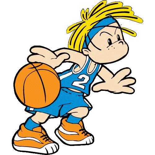 500x500 Kids Basketball Clip Art