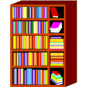 300x300 Clip Art Book Shelf Clipart Kid Clipartbarn, Clip Art Book Shelves