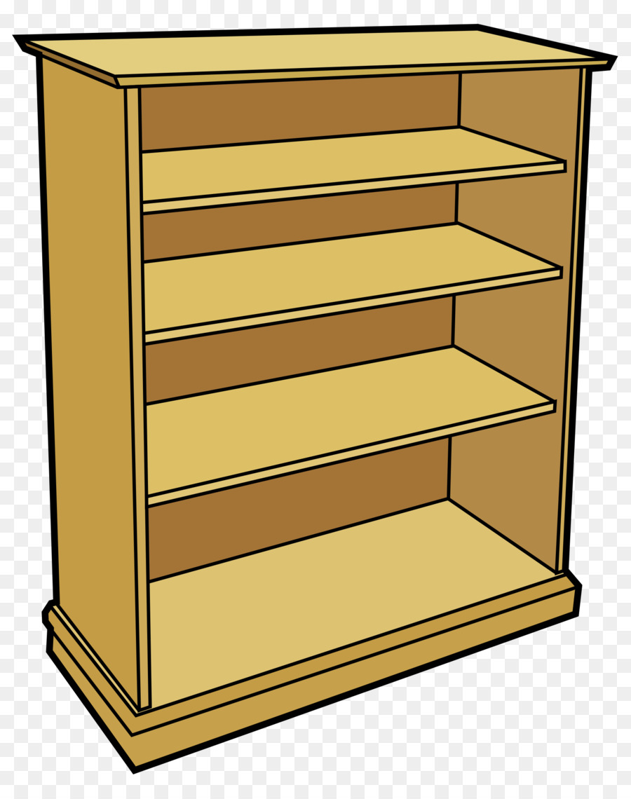 900x1140 Shelf Bookcase Furniture Clip Art