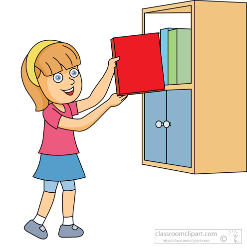 495x500 Shelf Clipart Kid