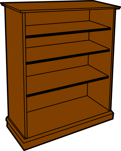 480x598 Bookcase Clipart Clipart Suggest, Clip Art Book Shelves