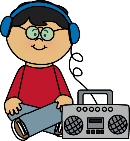 435x470 Kid Listening To Boombox Clipart Music Clipart