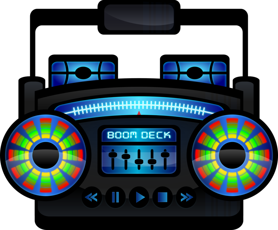 900x743 Mini Boombox Black By Viscious Speed