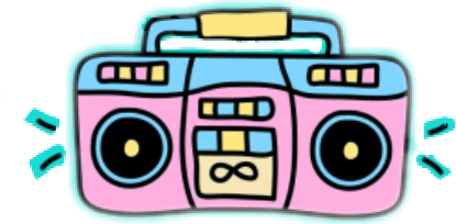 415x204 Popular And Trending Boombox Stickers On Picsart
