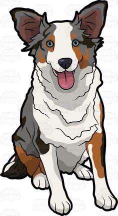 236x431 Football Brown Bulldog Running With The Ball.vector Illustration